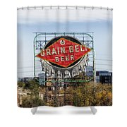 Minneapolis Brew Shower Curtain