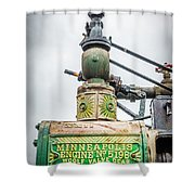 Minneapolis Steam Engine Shower Curtain
