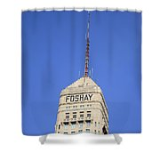 Minneapolis Tower Shower Curtain