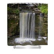 Minneopa Falls 37 Shower Curtain