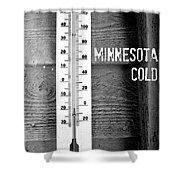 Minnesota Cold Shower Curtain