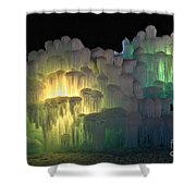 Minnesota Ice Castle 2013 Shower Curtain
