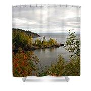 Minnesota North Shore Shower Curtain