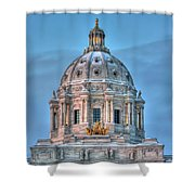 Minnesota State Capitol St Paul Mn Shower Curtain
