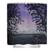 Minnesota Sunset Shower Curtain