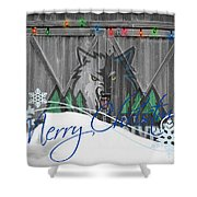 Minnesota Timberwolves Shower Curtain