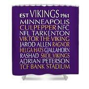 Minnesota Vikings Shower Curtain