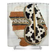 Minoan Livestock Painting Shower Curtain