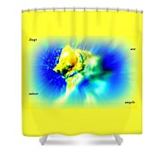 You Dogs Truly Are Minor Angels As They Say But Whats In It For You   Shower Curtain