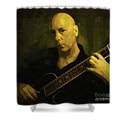 Minstrel Renaissance Modern Shower Curtain