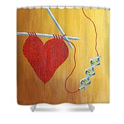 Miracle Of Dna Shower Curtain