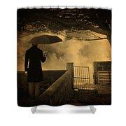 Miracle Shower Curtain by Taylan Apukovska