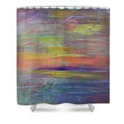 Mirage1a Shower Curtain