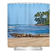 Mirissa Beach Sri Lanka Shower Curtain