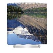 Mirror Lake Banff National Park Canada Shower Curtain