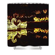 Mirror Lake Reflections Shower Curtain
