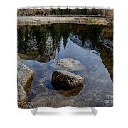 Mirror Lake Threesome 2 Yosemite Shower Curtain