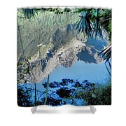Mirror Lake Two New Zealand Shower Curtain