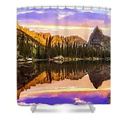 Mirror Lake Yosemite National Park Shower Curtain
