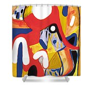 Mirror Of Me 2 Shower Curtain
