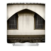 Mirrored Arch Shower Curtain