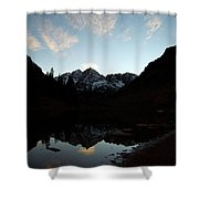 Mirrored Bells Shower Curtain