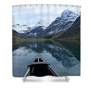 Mirrored Voyage Shower Curtain