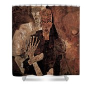 Misery Welcomes Shower Curtain