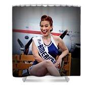 Miss America Shower Curtain