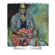 Miss Hattie - Skinning Shower Curtain