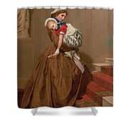Miss Lilys Return From The Ball, 1866 Shower Curtain