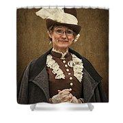Miss Prim Shower Curtain