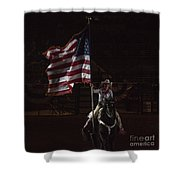 Miss Pro Rodeo Usa Shower Curtain