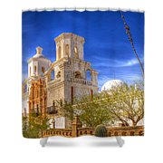 Mission 48 Shower Curtain