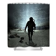 Mission Completed Shower Curtain