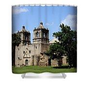 Mission Concepcion - Church Shower Curtain