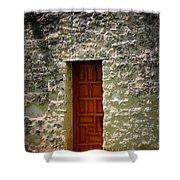Mission Concepcion - Door Shower Curtain