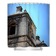 Mission Concepcion - Tower Shower Curtain