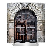 Mission Doors Shower Curtain