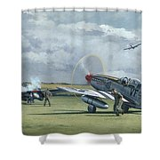 Mission From Debden Shower Curtain