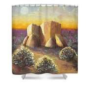 Mission Imagined Shower Curtain