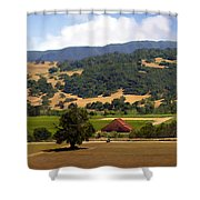 Mission Meadows Solvang California Shower Curtain