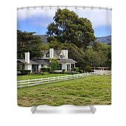 Mission Ranch - Carmel California Shower Curtain by Glenn McCarthy Art and Photography