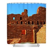 Mission Ruins At Abo Shower Curtain