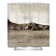 Mission San Antonio De Padua California Circa 1903 Shower Curtain