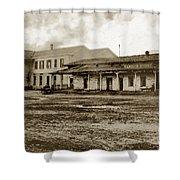 Mission San Francisco De Asis Mission Dolores And Mission House Calif. 1880 Shower Curtain