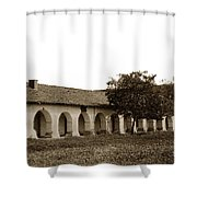Mission San Juan Bautista San Benito County Circa 1905 Shower Curtain