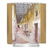 Mission San Juan Capistrano No 5 Shower Curtain