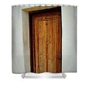 Mission San Juan - Door Shower Curtain