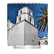 Mission San Luis Rey - California Shower Curtain